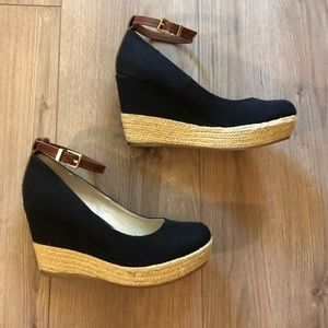 [Aldo] Grenama Wedges with Ankle Strap